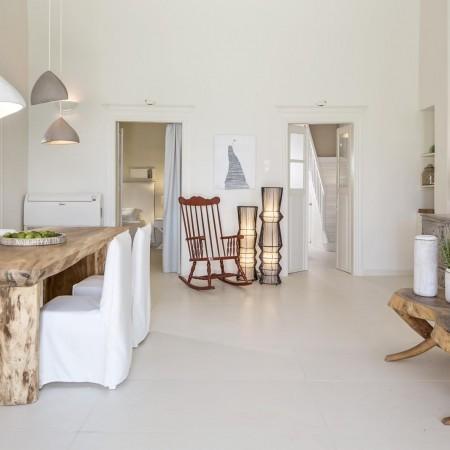 Mykonos Town villa Living room