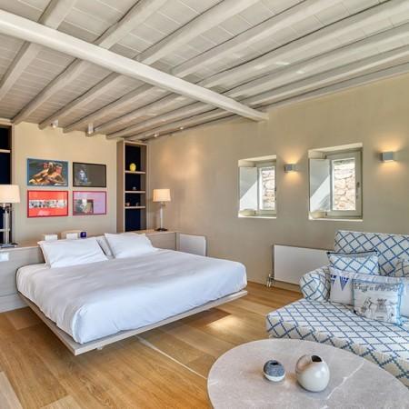 luxury suite at villa Calvi