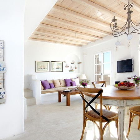 Mykonos villa Aaliyah interior