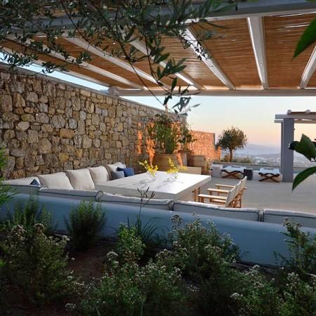 3 Bedroom Luxury Villa Rental in Mykonos