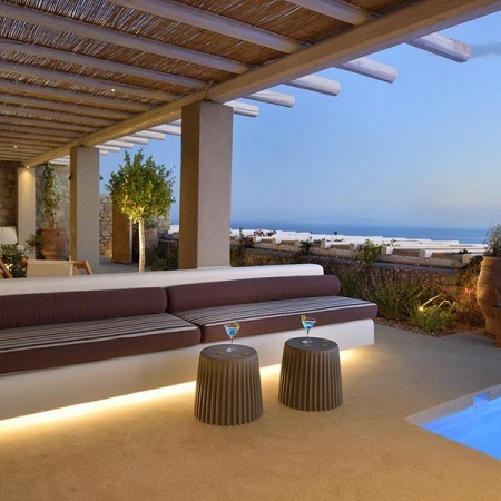 3 Bedroom Luxury Villa Rental in Mykonos, Greece