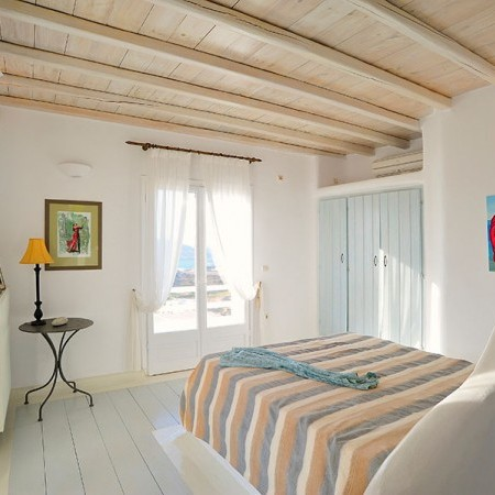 mykonos villa bedrooms