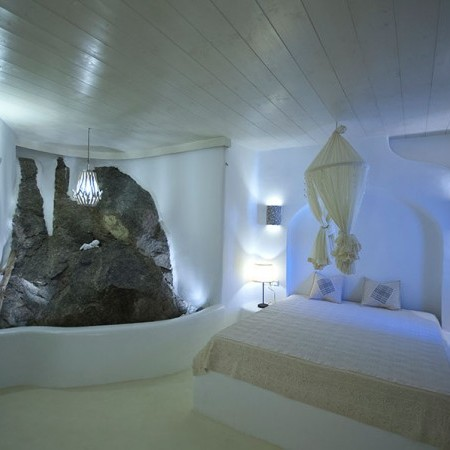 mykonos villa guest rooms