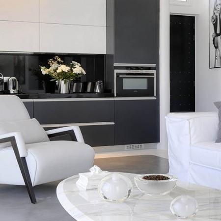 living room luxury villa Ariel