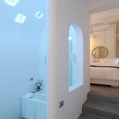 Villa Ariel Mykonos luxury bathroom