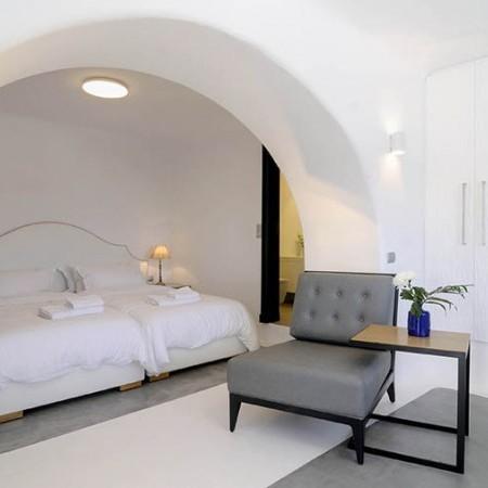 Master bedroom Villa Ariel Mykonos