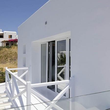 Mykonos Villa Ariel balcony