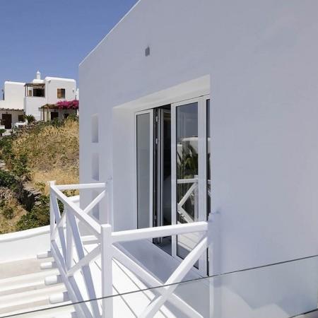 balcony Villa Ariel Mykonos