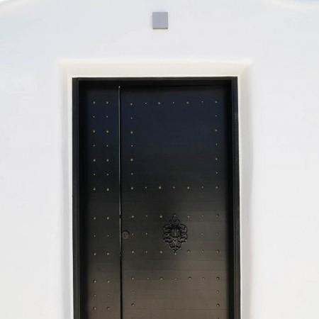 Mykonos Villa Ariel entrance