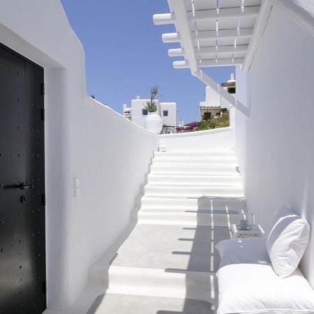 Mykonos Villa Ariel outdoors