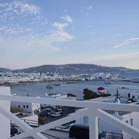 Villa Ariel Mykonos Town view