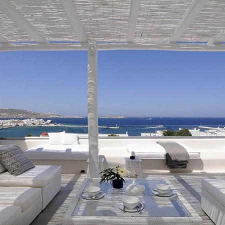 Mykonos Town villa sea view