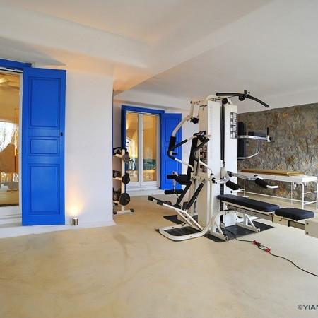 Villa Artemis Mykonos private gym