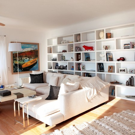 Villa Asante living room