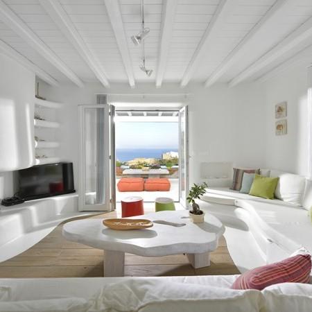 living room Villa Bahia