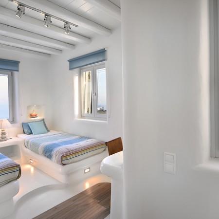 twin bedroom Villa Bahia