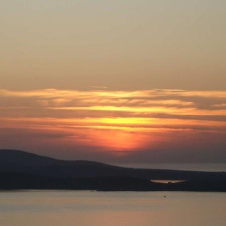 mykonos villa bellevue sunset