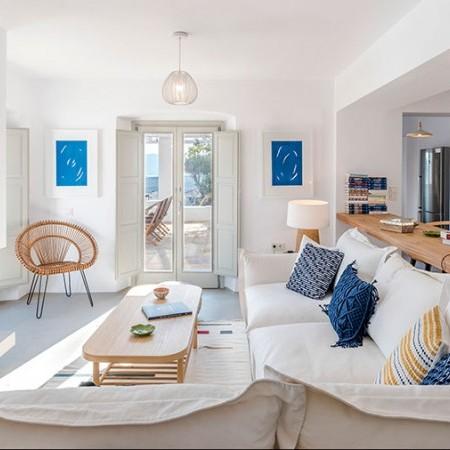 villa's main living room