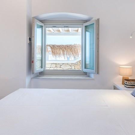double bedroom at villa Bonheur
