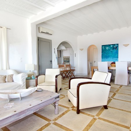 living room Villa Brillante