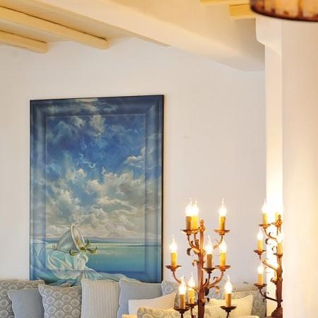 villa Cantik living area