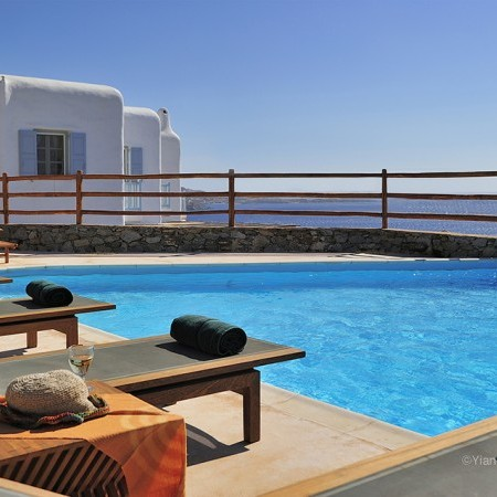 Mykonos private villa with pool