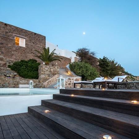 Luxury Villa Clemence Kounoupas Mykonos