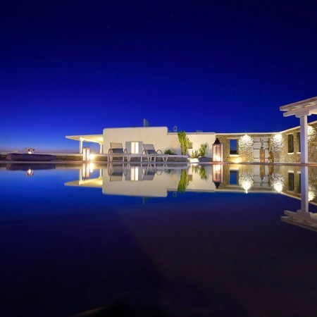 villa for rent super paradise Mykonos