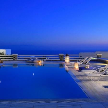 villa colline Mykonos