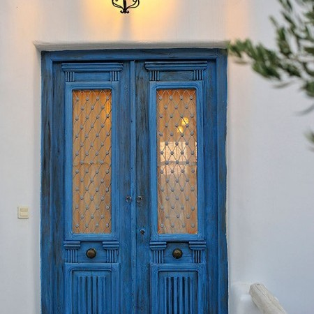 Mykonian House Door