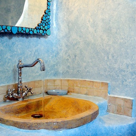 Villa Dalia Mykonos bathroom