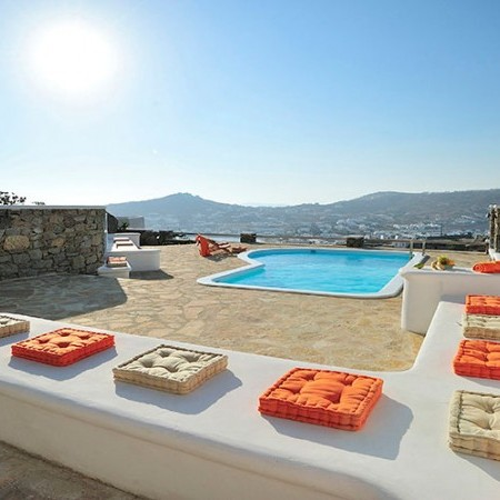 Mykonos villas Agios Lazaros