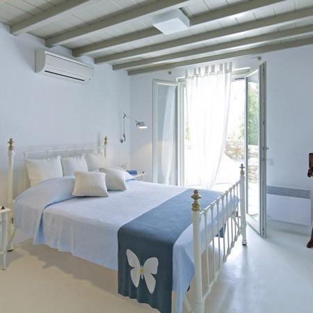 villa daphne double bedroom