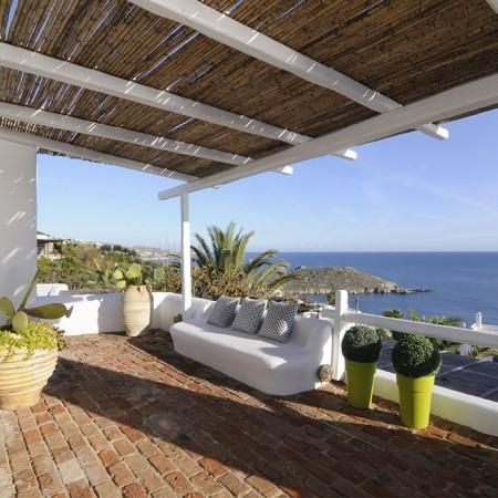 Villa Delos View veranda