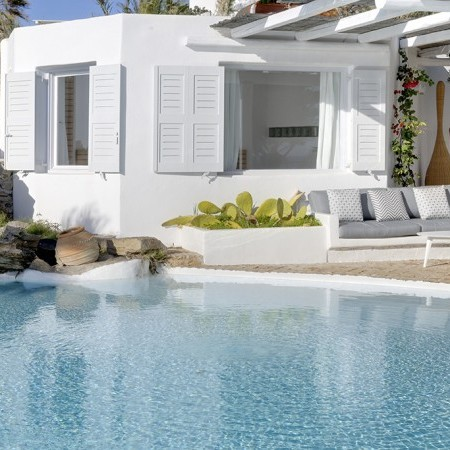 mykonos villa delos view