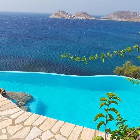 Mykonos beachfront Villa Extasea