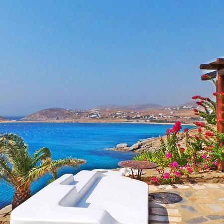 Villa Mykonos with sea view
