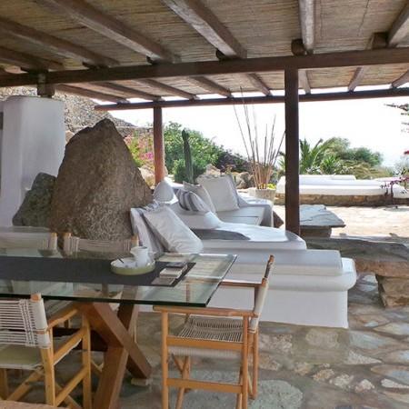 Mykonos Villa Extasea exteriors