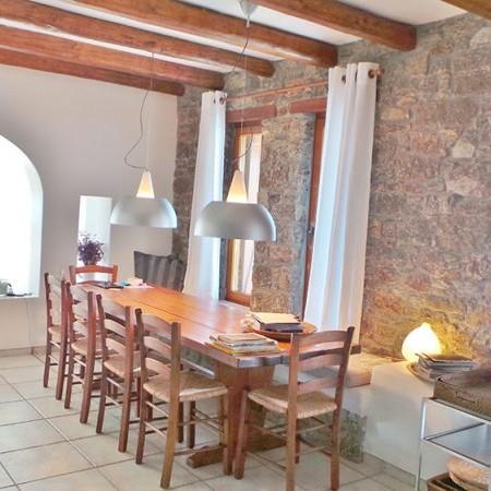Mykonos Villa Extasea dining area