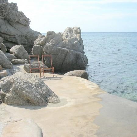 beachfront villa Mykonos