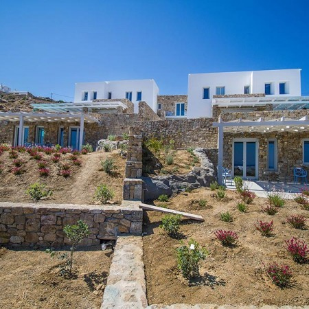 villa rental Elia beach mykonos