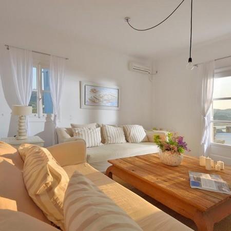 Mykonos beachfront villa