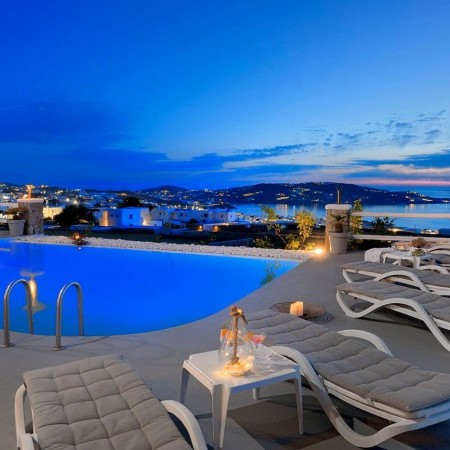 villa for rent near Mykonos town