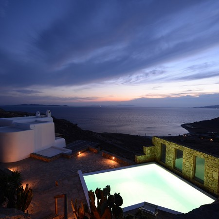 Mykonos villa for rent with pool