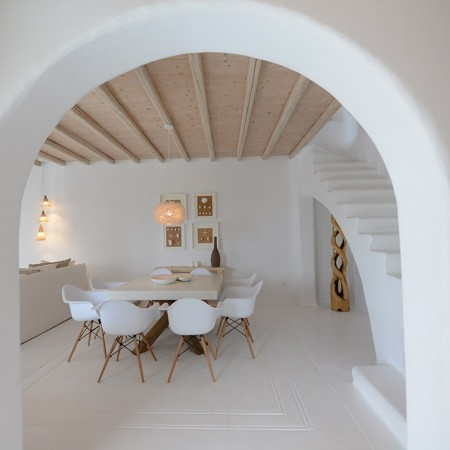 mykonos villa Kristalia for rent