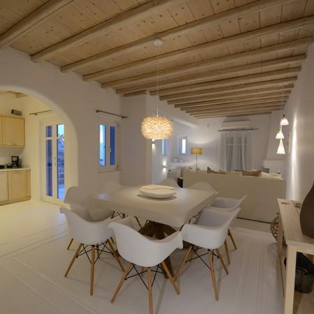 villa kristalia interior