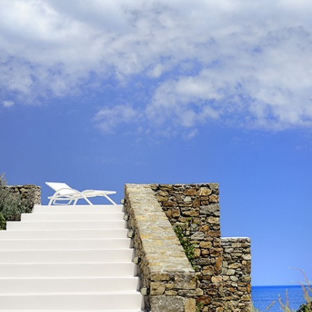 beachfront villas in Mykonos