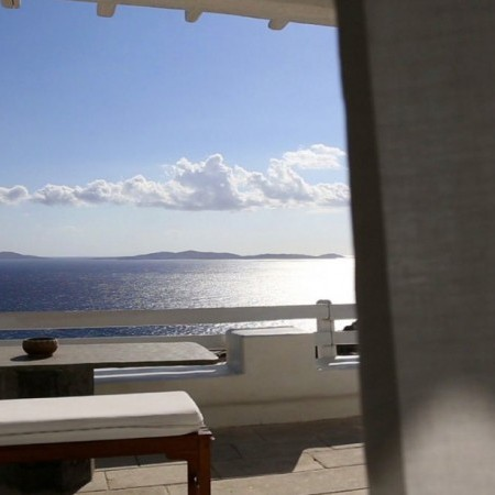 Sea view from Villa Libra in Mykonos