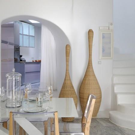 Villa Magia indoors dining area