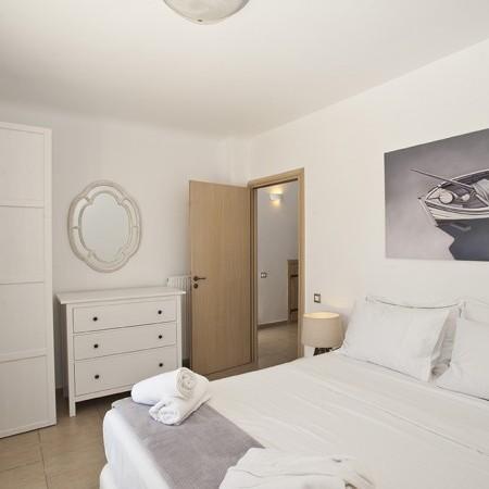 double white bedroom